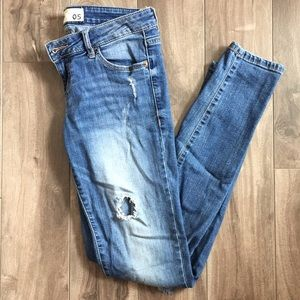 Jegging low rise
